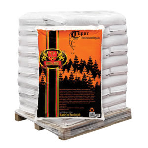 Royal Gold Tupur 2 cu. Ft pallet of 60 and 2 cu yd totes