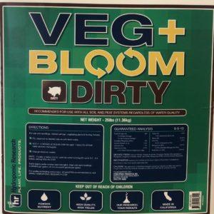VEG+BLOOM DIRTY 25lbs