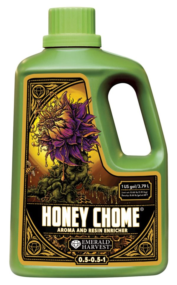 1 gallon honey chome emerald harvest e1620325151434